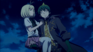 Amaimon kidnaps Shiemi