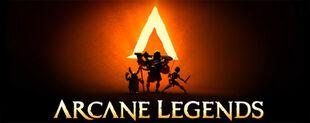 Arcane legends header4
