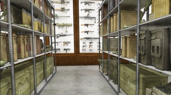 isis armory