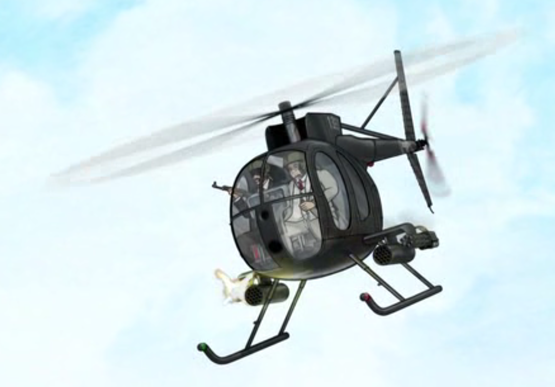 Watch Dogs  Helicopter