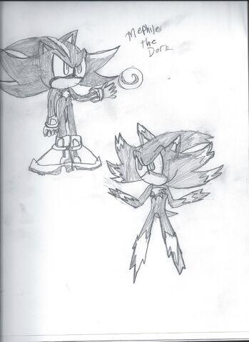 File:Mephiles the Dark sketch.jpg