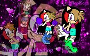 Topaz the Hedgehog Wallpaper