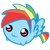 Free rainbow blitz chubbie icon by burningicedrops-d4x1mr6