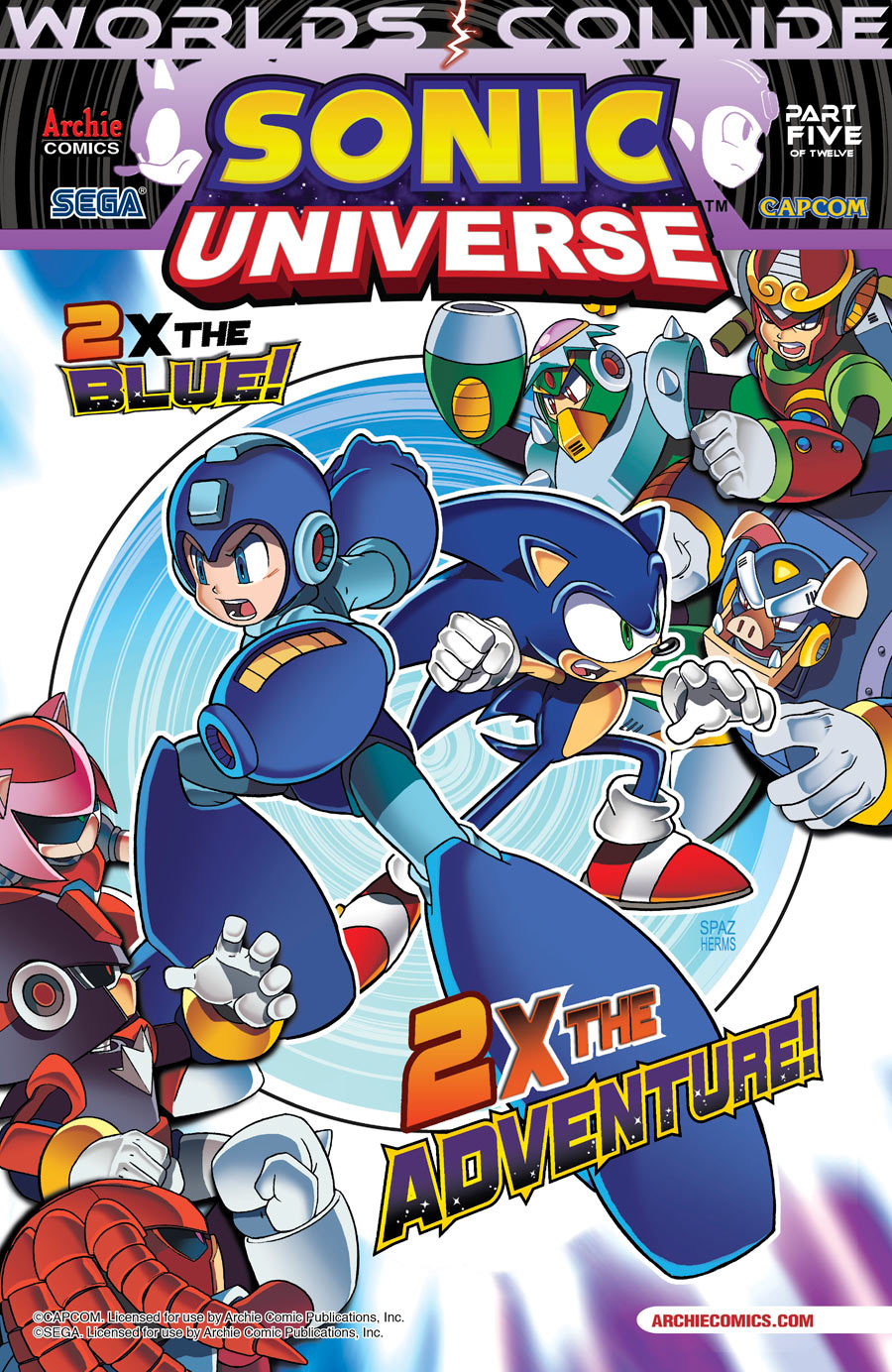 Preview: Sonic Universe #6 – Page 1 - comiXology