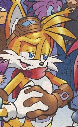 Miles Tails Prower (Light Mobius)
