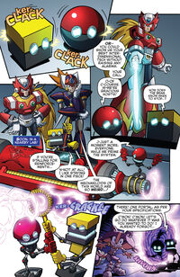 Boom Orbot and Cubot Forced to Help