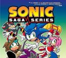 Sonic Saga Series Volumes 8-10