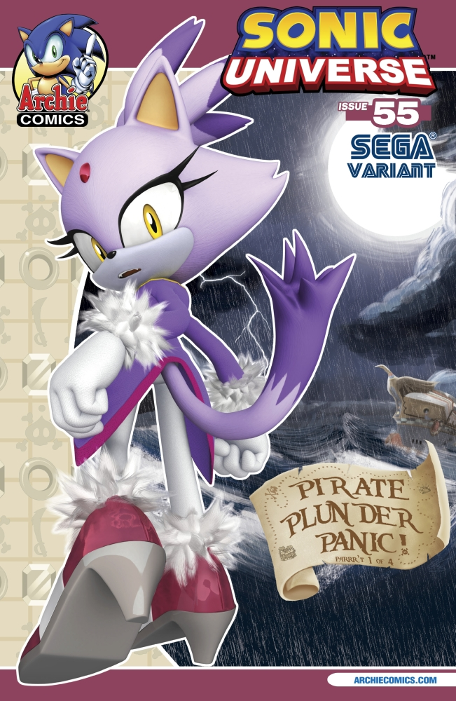 Sonic Universe #56 - Pirate Plunder Panic Part 2 of 4 (Issue ...