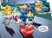 Sonic Jacques and Belle