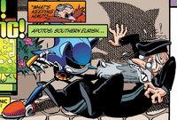 Metal Sonic Threatens Gregorios