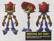 Mecha Sally Designs