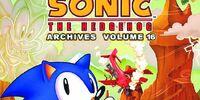 Sonic Archives Volume 16