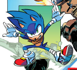 Sonic Profile - Sonic Boom