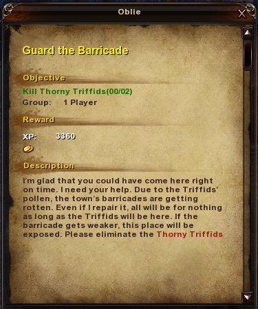 1 Guard the Barricade