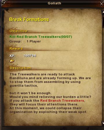 128 Break Formations