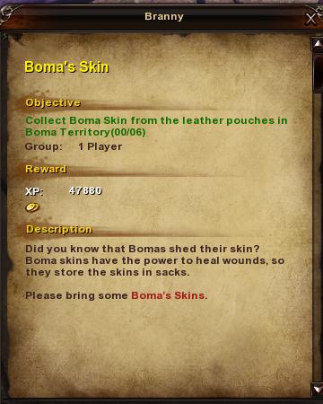 140 Boma's Skin
