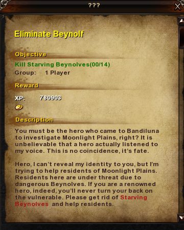 2 Eliminate Beynolf
