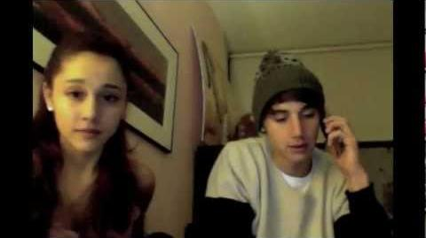 Jai Brooks does Ariana Grande's makeup