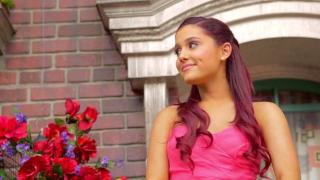 "File:A screenshot of Ariana in her music video ""Put Your Hearts Up"".png"