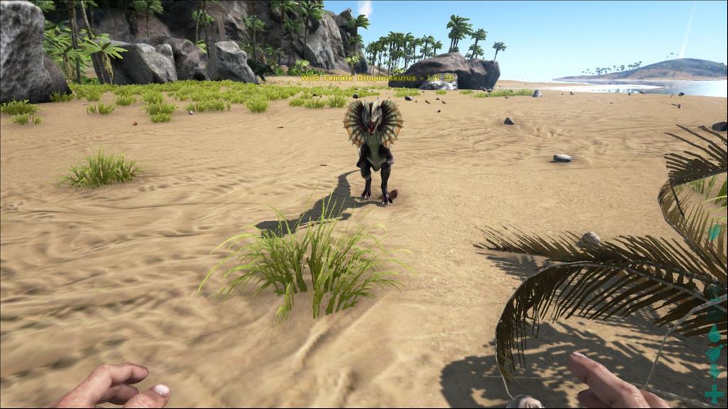 Image Ark Dilophosaurus Screenshot 007 Jpg Ark