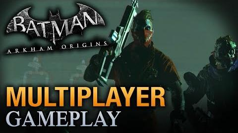 Batman Arkham Origins - Multiplayer Joker Gang Gameplay