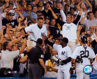 Derek jeter dive after