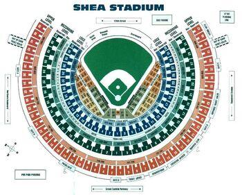 Shea Stadium Seating Chart