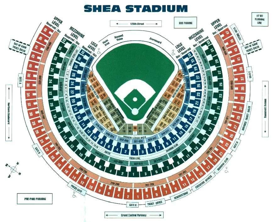 Image Shea Stadium Seating Chart Jpg Armchairgm Wiki