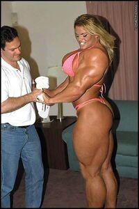 Body builder chick 1