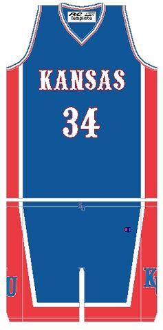 File:KansasJayhawksBasketballJersey 1996.jpg