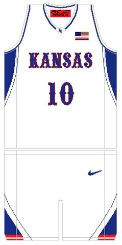 File:KansasJayhawksBasketballJersey 2003.jpg