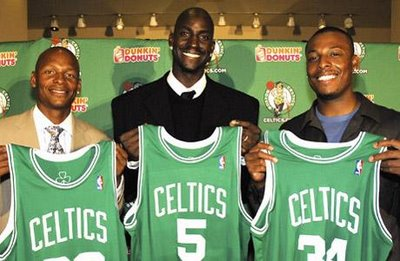 KG and the Big Three