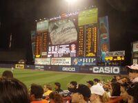 Shea scoreboard