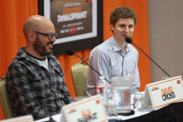 File:2013 Netflix Press Conference - David and Michael 2.jpg