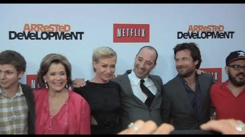 Arrested Development Hot on the Red Carpet
