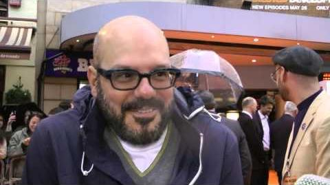 David Cross Interview - Series 4 Premiere