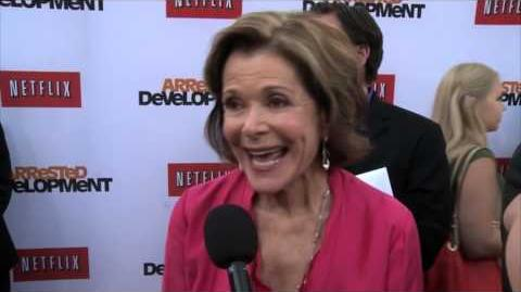 Arrested Development Season 4 Jessica Walter Premiere Interview