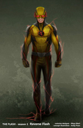 Reverse-Flash concept art 1