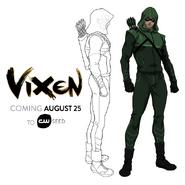 Vixen - Arrow concept art