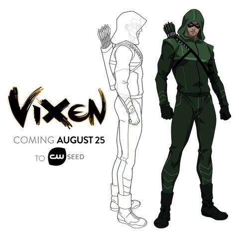 Файл:Vixen - Arrow concept art.png