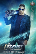 Captain Cold DC's Legends of Tomorrow promo