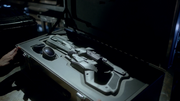 The Cold Gun and its complimentary goggles in their stolen case.png