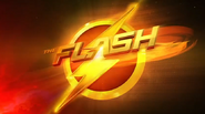 The Flash promotional title card