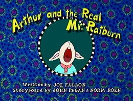 Arthur and the Real Mr. Ratburn title card