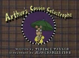 Arthur's Cousin Catastrophe Title Card