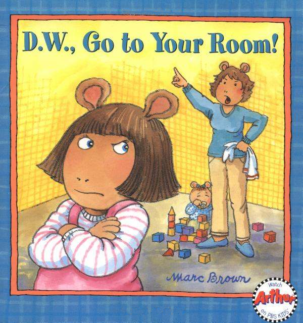 d w go to your room arthur wiki fandom powered by wikia. Black Bedroom Furniture Sets. Home Design Ideas