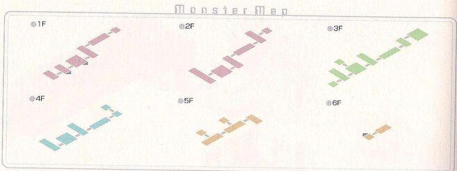 Prism Garden Monster Map