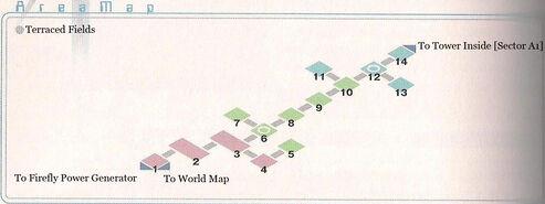 Terraced Fields Area Map