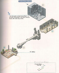 Temple of Elemia - Outer Wall Map 2 and Monster Map