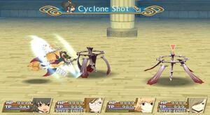 Cyclone Shot (TotA)